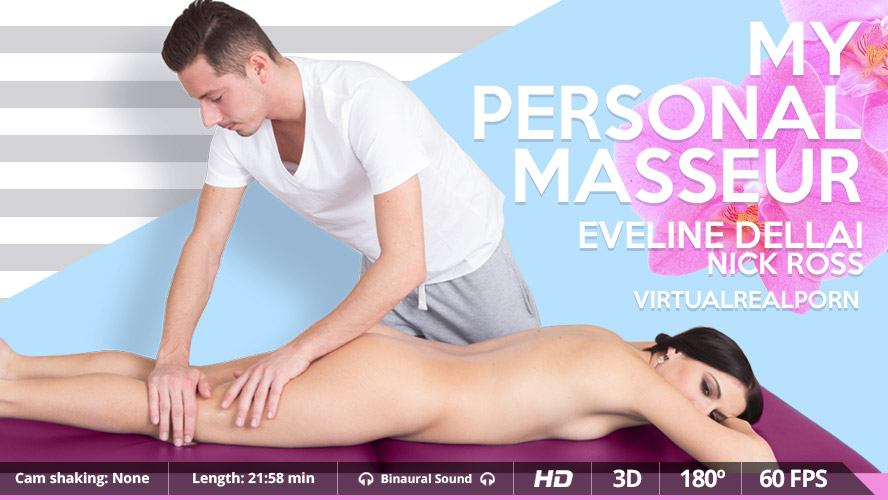 Virtual Real Porn Eveline Dellai & Nick Ross in My personal masseur