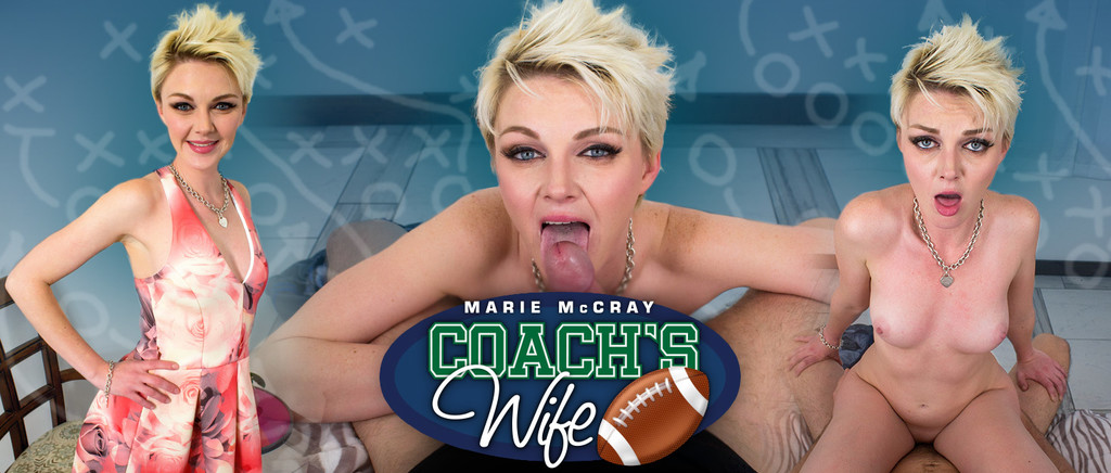 Milf Vr Marie McCray in Coach's Wife